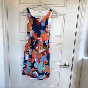 Anthropologie color splash dress